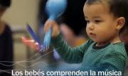 bebés y la música