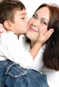 Beso a mamá